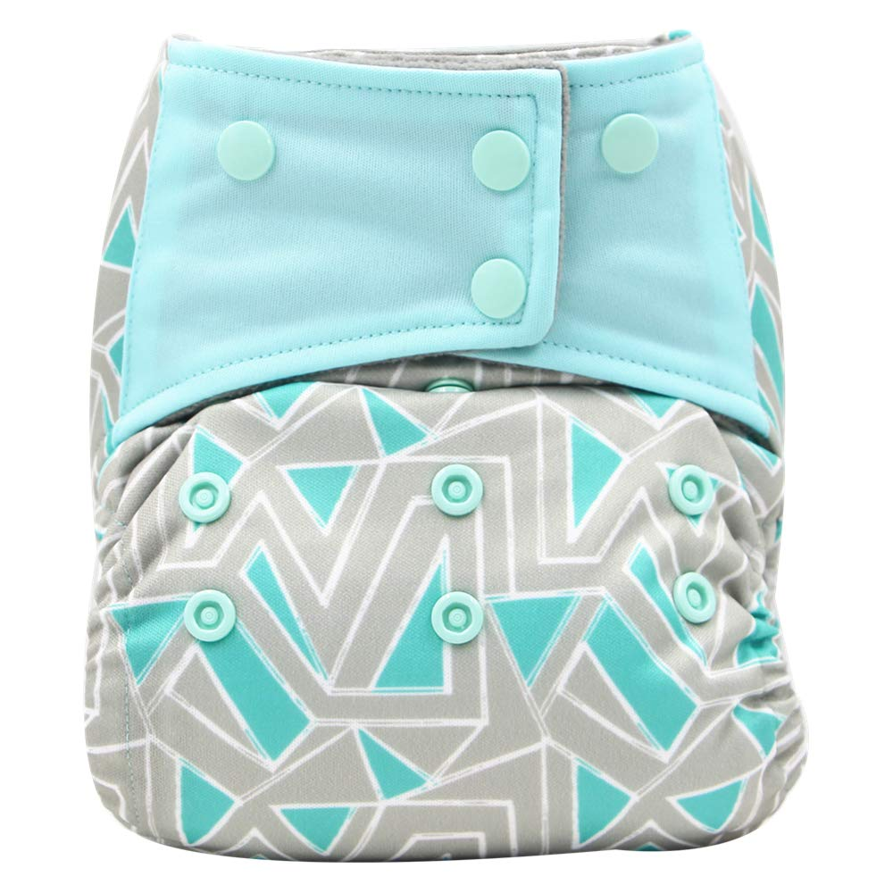 A35 AIO Reusable Washable Cloth Diaper Nappy Charcoal Bamboo Insert Overnight