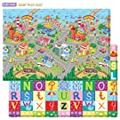Baby Care Play Mat (Large, Zoo Town)