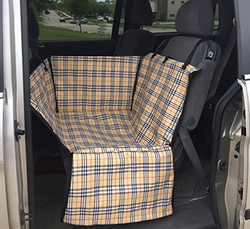 FixtureDisplays Dog Cat Car Seat Basket Bed Carrier Pet Travel Booster Safety Back Seat12234 12234-NF