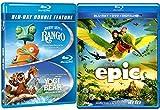 Rango + Yogi Bear & Epic Cartoons from the creators of Ice Age DVD Animated Set