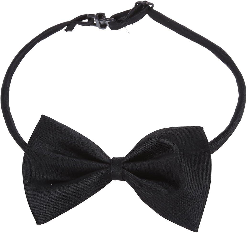 SODIAL(R) Corbata de mono para perro gato mascota ¨C negro: Amazon ...