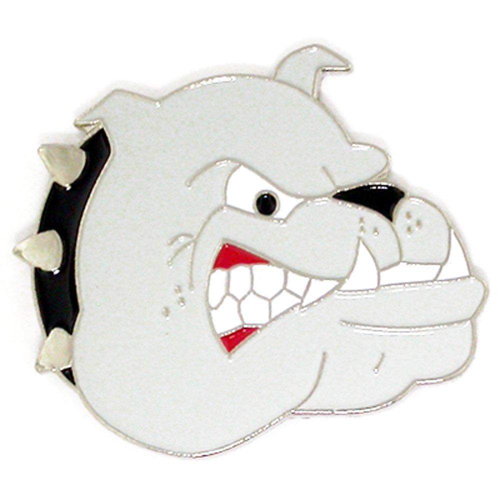 PinMart's Bulldogs School Mascot Sports Enamel Lapel Pin