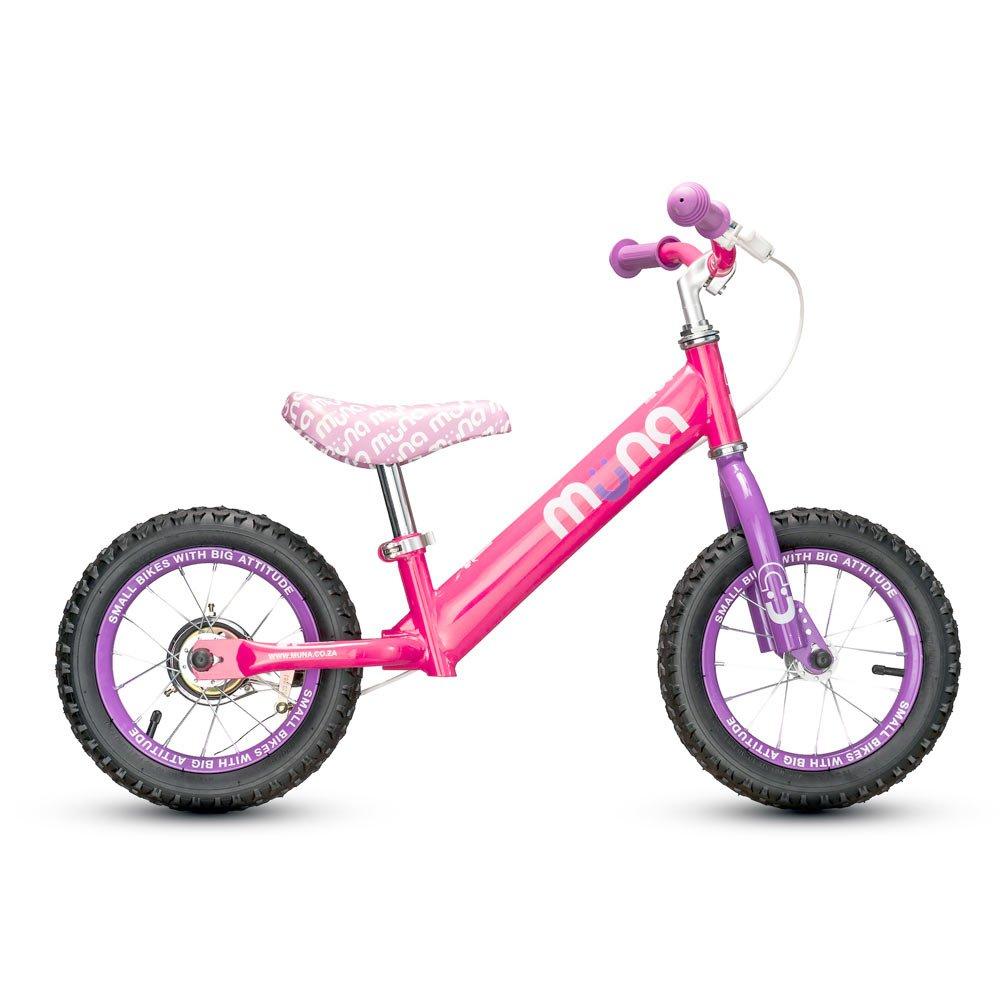 Muna Pinkie Balance Bicycle, 12''