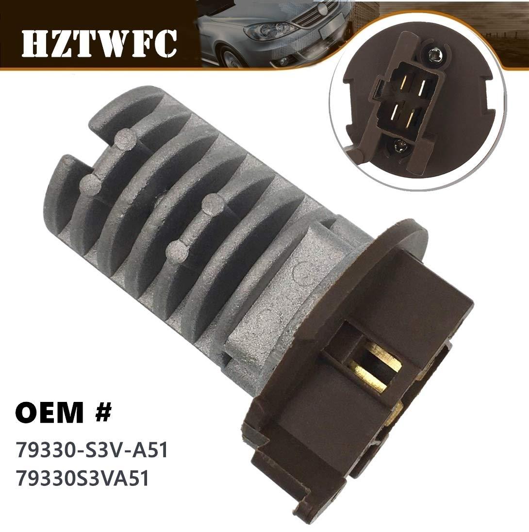 HZTWFC Blower Motor Resistor 79330-S3V-A51