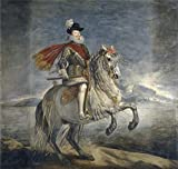 The High Quality Polyster Canvas Of Oil Painting 'Velazquez Diego Rodriguez De Silva Y (and Other) Felipe III A Caballo 1628 35 ' ,size: 8 X 8 Inch / 20 X 21 Cm ,this Cheap But High Quality Art Decorative Art Decorative Canvas Prints Is Fit For Hallway Decoration And Home Gallery Art And Gifts