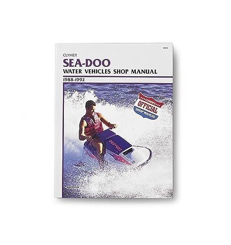 amazon com clymer repair manual seadoo water vehicle pwc 88 96 rh amazon com 1996 gtx sea doo shop manual 1996 seadoo gtx manual pdf