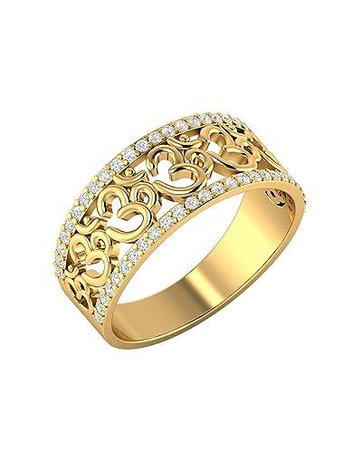 7fc71c1fb6fbda Voylla Silver Ring for Men (Golden)(8907617163550)  Amazon.in  Jewellery