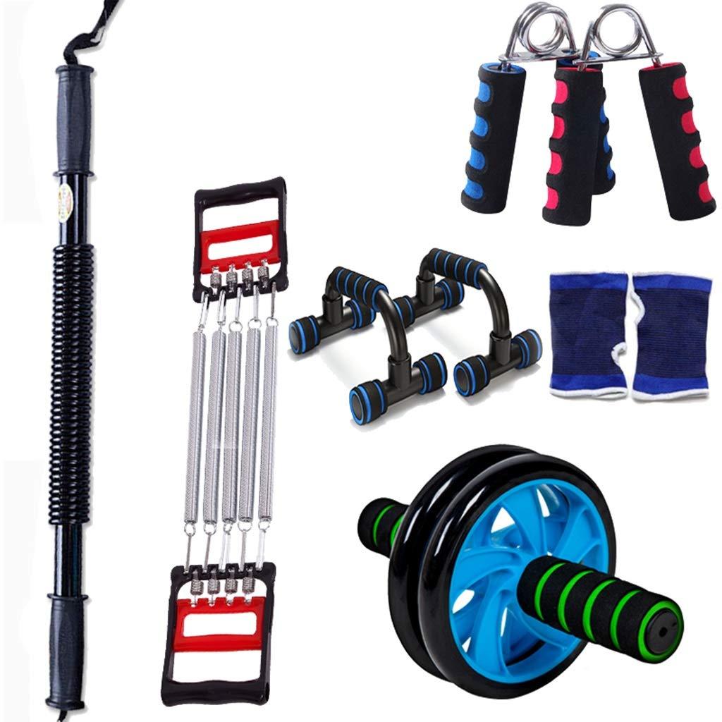 HWH 体重運動器具、家庭の男性と女性の腕の腹部運動器具を失うグリップ多機能プーラースーツ 多目的 B07HK65MWD 50KG|D D 50KG