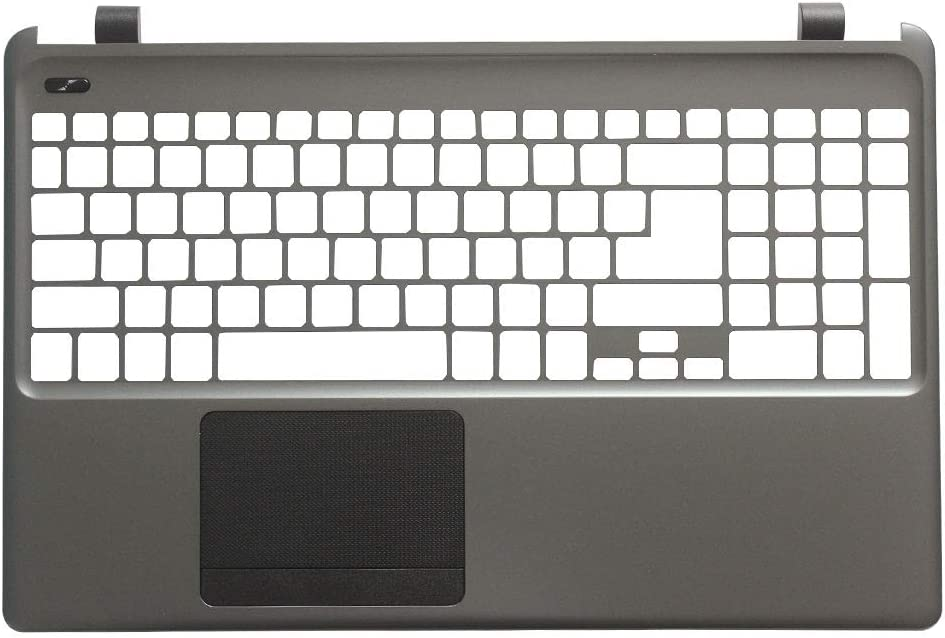Laptop Replacement Keyboard Fit Acer Aspire E1-510 Series E1-530 E1-532 E1-570 E1-532 E1-572G E1-572 V5WE2 Z5WE1 (Palmrest Cover Case Sliver)