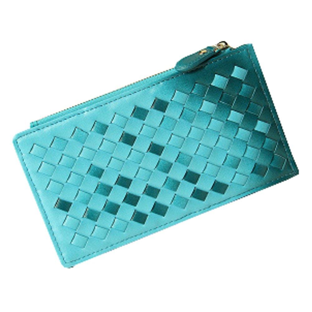 sac de carte fentes de carte de crédit porte-monnaie support 20 de cartes Bleu Blancho Bedding Cartes