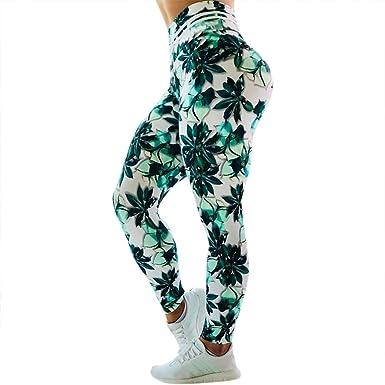 cinnamou Pantalon Yoga Mujer, Casual Legging Fitness ...