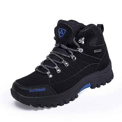 8ba4322f26c Amazon.com   GOMNEAR Men's Hiking Boots Wear-Resistant High-Top Non ...
