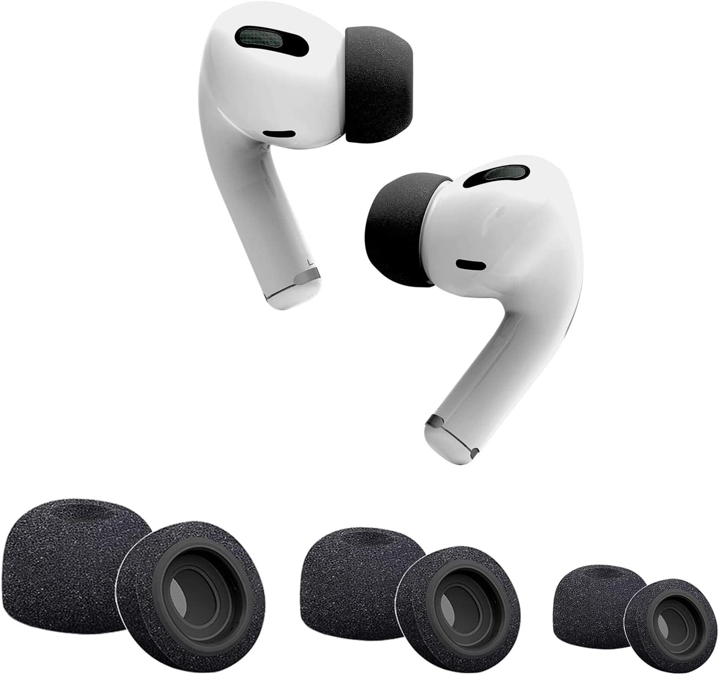 Diy Mod I Added Memory Foam Tips To My Airpods Pro To Improve Their Seal And Help With Noise Cancellation And Bass Response Headphones