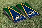 Utah Jazz NBA Basketball Cornhole Game Set Triangle Version