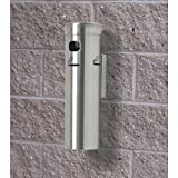 Wall Mounted Cigarette Receptacle Color: Satin