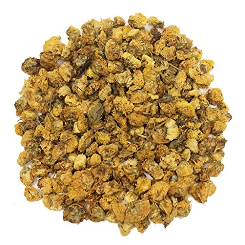 The Tea Farm - Small Bud Chrysanthemum Herbal Floral Tea - Chinese Loose Leaf Herbal Tea (16 Ounce Bag) by The Tea Farm