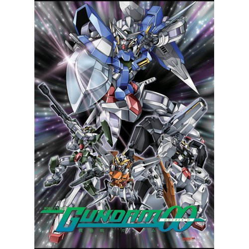 Great Eastern Entertainment Gundam 00 Wall Scroll, 33 by 44-Inch -