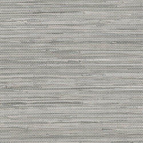 Linen Faux Texture Wallpaper - Norwall NT33705 Vinyl Faux Grasscloth Wallpaper Color Gray
