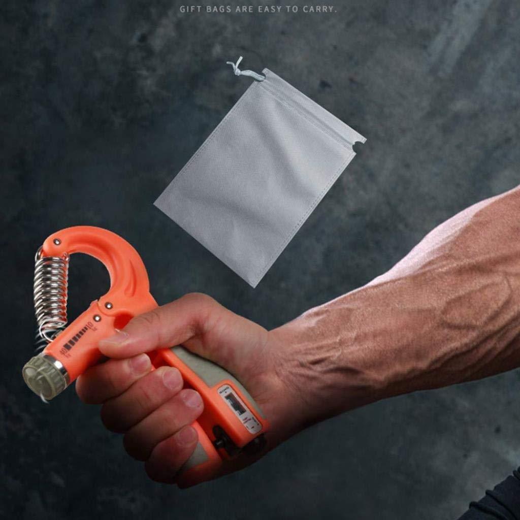 JiangOu Handgriffverst/ärker Einstellbarer Widerstand 10-40 kg Hand Handgelenk Finger Unterarmst/ärke Trainer Griffst/ärke Ausr/üstung for Teenager 2er-Paket Frauen Senioren M/änner