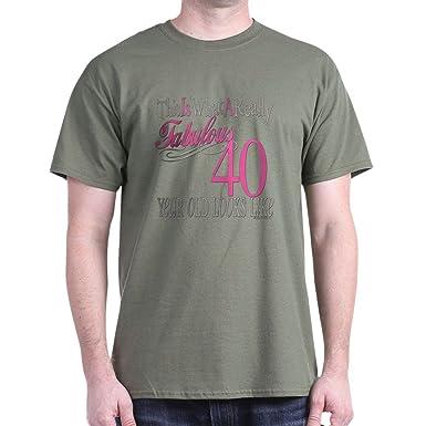 169420e3045 CafePress 40Th Birthday Gifts - 100% Cotton T-Shirt  Amazon.co.uk  Clothing