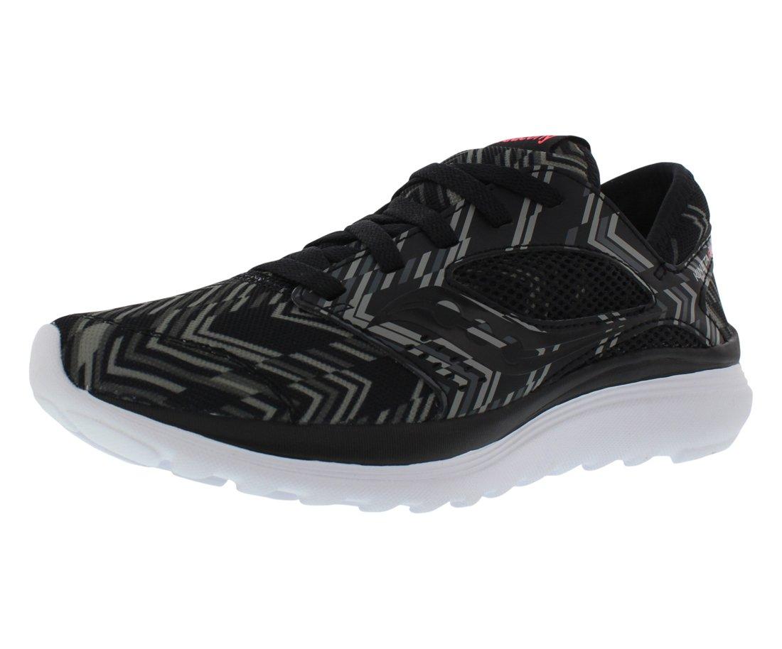 Saucony Women's Kineta Relay Road Running Shoe, Black/Chevron, 5 M US