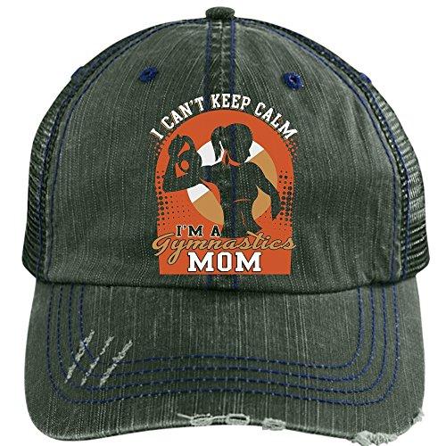 fd960d281 I'm A Gymnastics Mom Hat, I'm A Mom Trucker Cap (Trucker Cap - Black ...