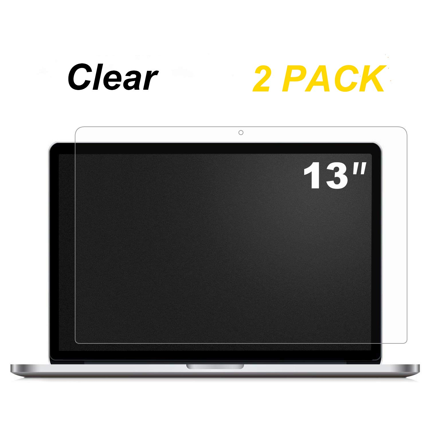 [2P Pack] Anti Scratch Screen Protector Compatible