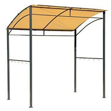 Outsunny BBQ Grill Canopy Steel Frame Shelter Brown  sc 1 st  Amazon.com & Amazon.com : Outsunny BBQ Grill Canopy Steel Frame Shelter Brown ...