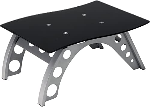 Pitstop Furniture ST9000B Black Chicane Side Table