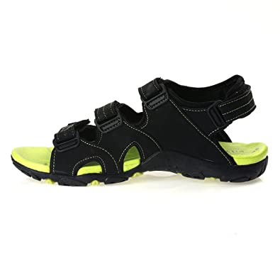c5226fa3581 PARAGON Stimulus Men s Green Sandals  Buy Online at Low Prices in India -  Amazon.in