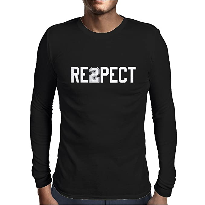 c7b17641d4f095 Derek Jeter re2pect Mens Long Sleeve T-Shirt Black   XX-Large  Amazon.ca   Clothing   Accessories