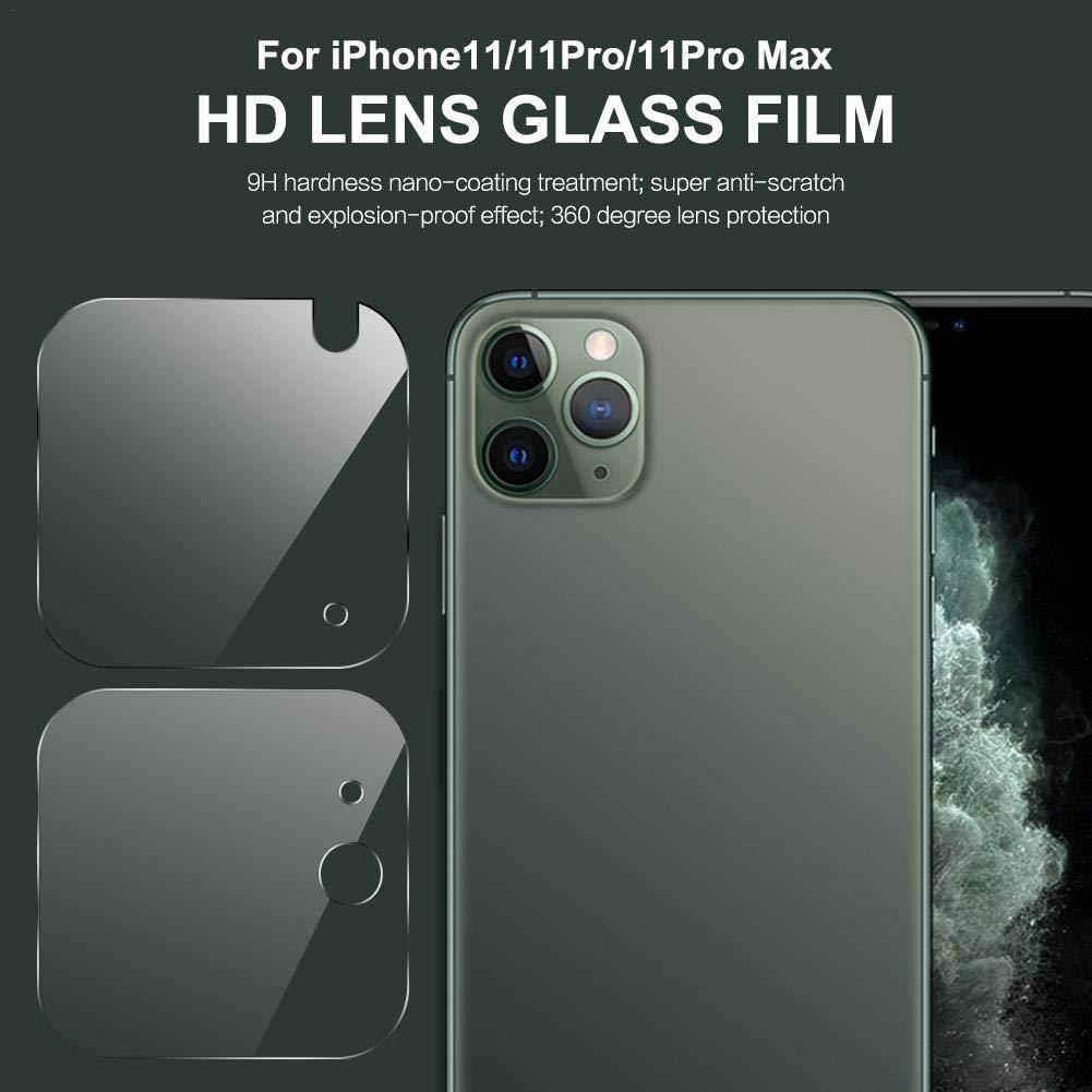 Transparente Anti Graffi HD Trasparenza Fotocamera Protettiva Screen Protector Film chivalrylist per iPhone 11 2019 Camera Vetro Temperato Pellicola