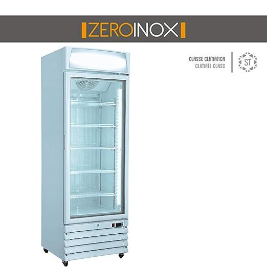ZeroInox Nevera Vitrina bibibibite - Refrigeración ventilada - con ...