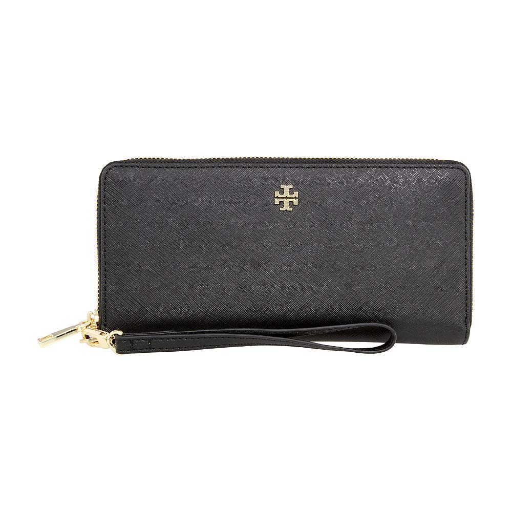 f88c883514a8a Amazon.com  Tory Burch York Ladies Small Leather Zip Passport Continental  Wallet 40882001  Clothing