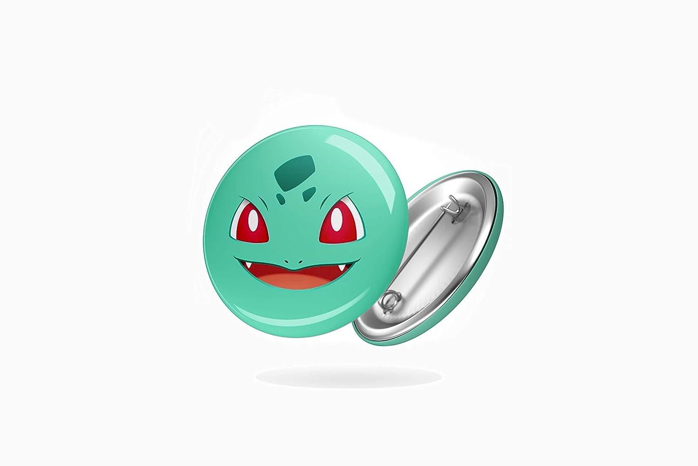Pokemon BazarPRO Spille Rotonde Personalizzabili Badge Pikachu Charmander Starter Prima Generazione