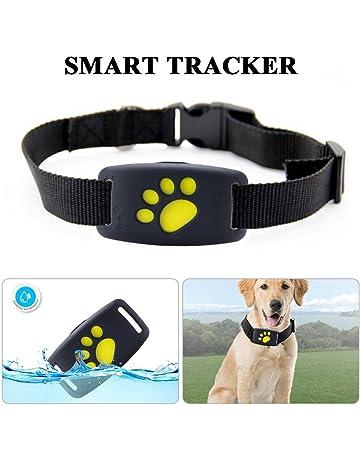 LifeUp Localizador GPS para Perros Perros y Gatos, Localizador Anti-Perdida Anti-Robo
