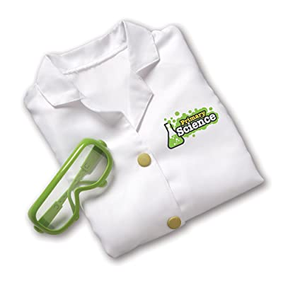 Learning Resources Lab Gear, Pretend Play Scientist Costume, Lab Gear for Kids, Ages 3+: Toys & Games