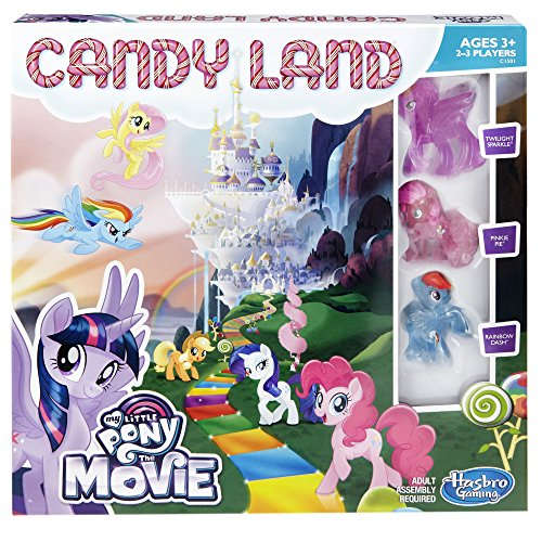 Candy Land Game: My Little Pony the Movie Edition (Toys Little My Pony)