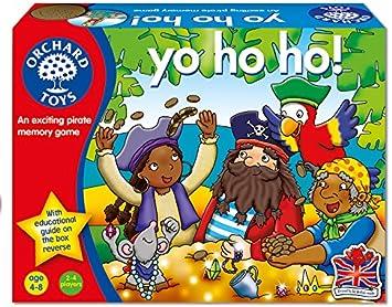 Orchard Toys Yo Ho Ho! - Juego de Memoria: Orchard Toys: Amazon.es: Juguetes y juegos