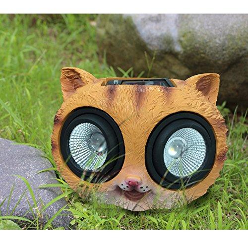 Outdoor Solar Cat Light - 3