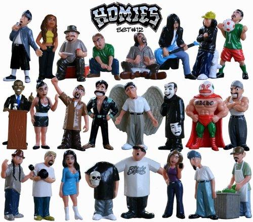 Homies Series 12 - All 24 Figurines