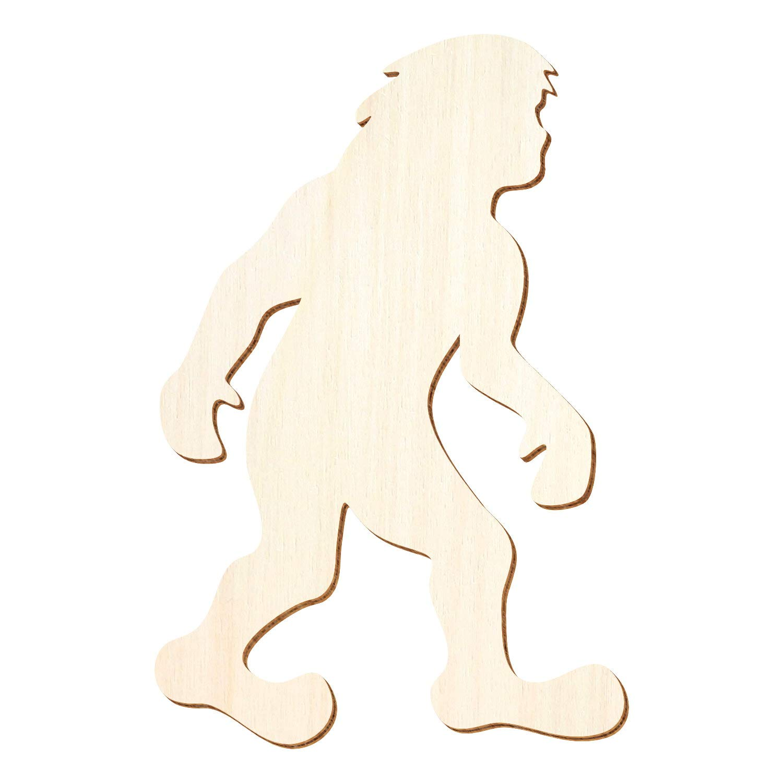 Holz Bigfoot - 3-50cm Höhe - Basteln Deko, Pack Pack Pack mit 100 Stück, Größe 18cm B07P83WBN2 | Große Auswahl  36166e