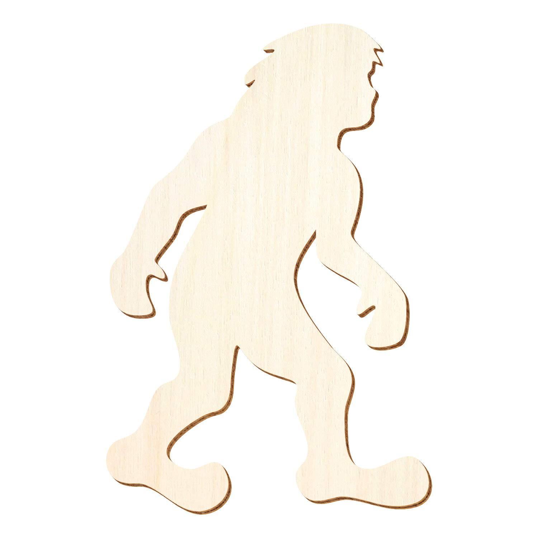 Holz Holz Holz Bigfoot - 3-50cm Höhe - Basteln Deko, Pack mit 100 Stück, Größe 18cm B07P84YNQ2 | Shop Düsseldorf  5e1fd4