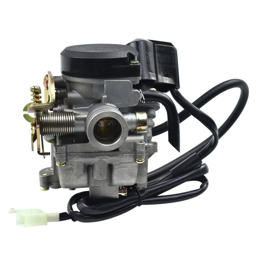 WPHMOTO 18mm Carburetor for GY6 50cc Scooter Moped