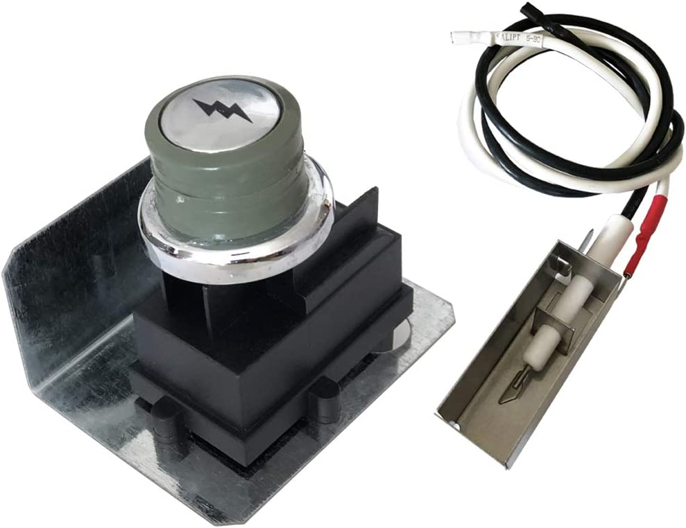YIHAM 67726 Grill Igniter Kit Replacement for Weber Genesis 300 Grills (Year 2007) Genesis E/S-310 E/S-320 Igniter Replacement Parts Ignition Module Metal Spark Box