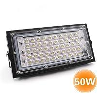 Galapara 50W Foco led Exterior, AC175-265V 6500K focos led Exterior Proyector led Exterior de Impermeable IP65…