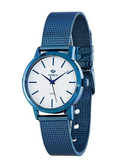 134f9d68fa6 Reloj Marea Mujer B41140 9 Malla Azul  Amazon.es  Relojes