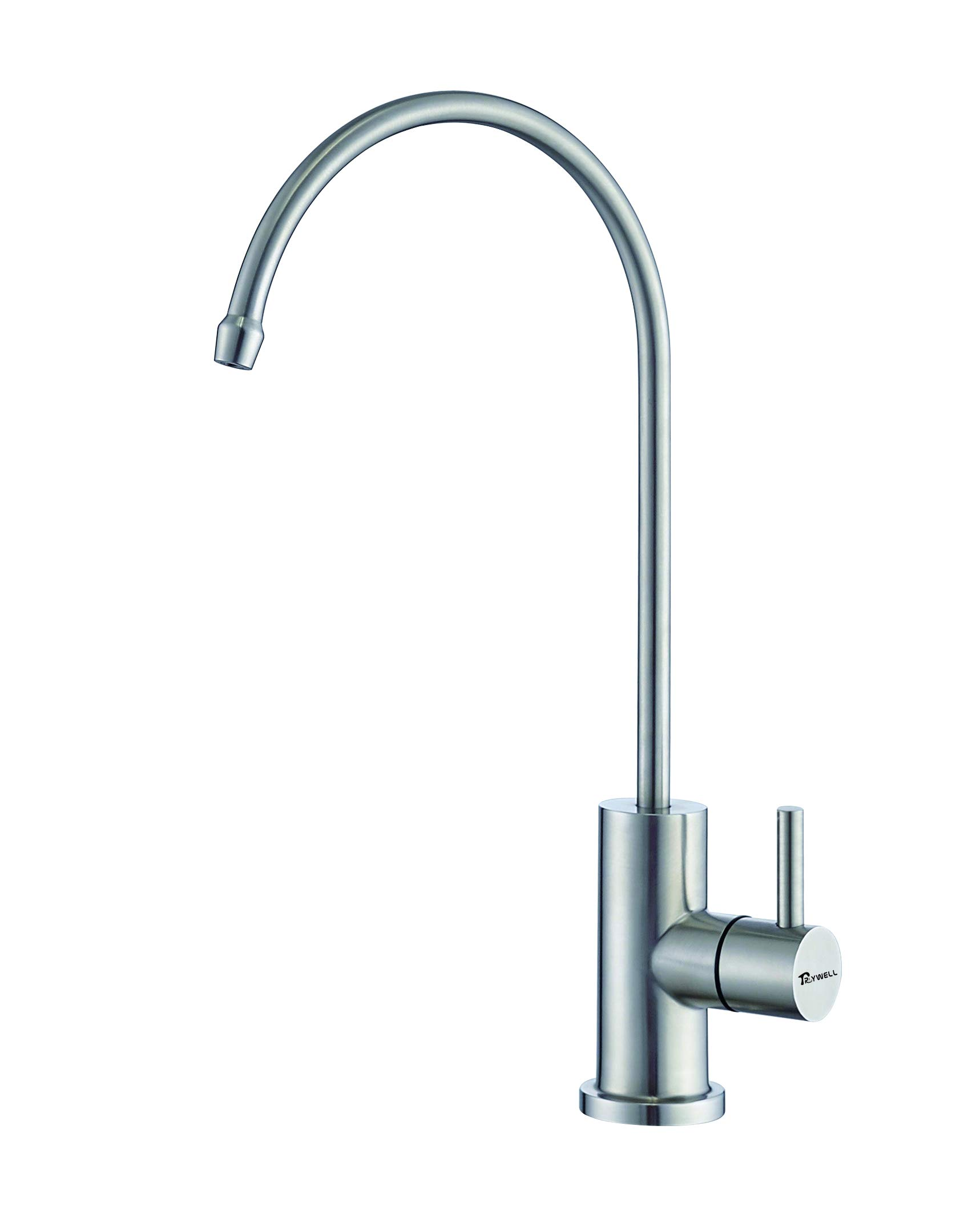 TRYWELL Lead-Free Stainless Steel Beverage Faucet Single Handle Drinking Water Kitchen Sink Faucet