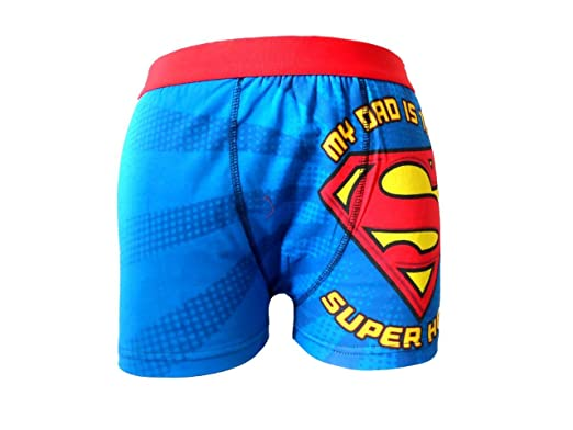 ba68ac67134004 Mens Marvel Superman Character Boxer Short Trunk Underwear  Amazon.co.uk   Clothing