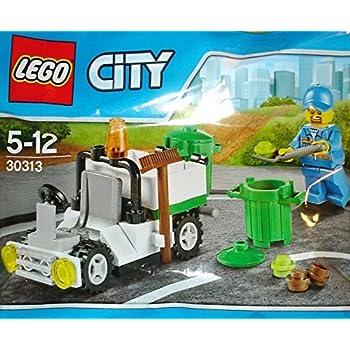 LEGO X3 Sets New City Garbage Truck Poly Bag Mini Set #30313